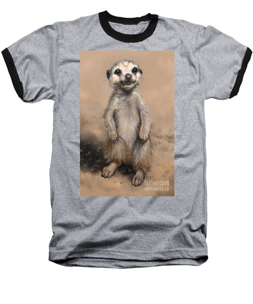 Meercat Baseball T-Shirt