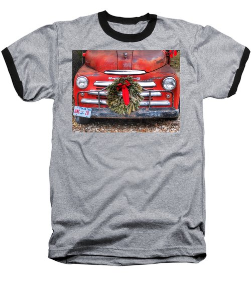 Merry Christmas Texas Baseball T-Shirt