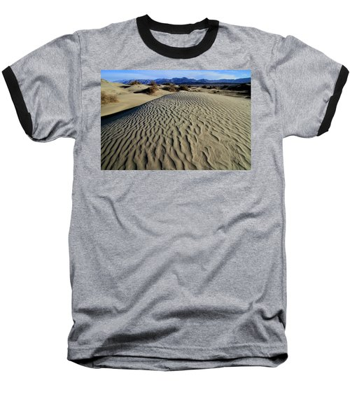Mesquite Flat Sand Dunes Grapevine Mountains Baseball T-Shirt