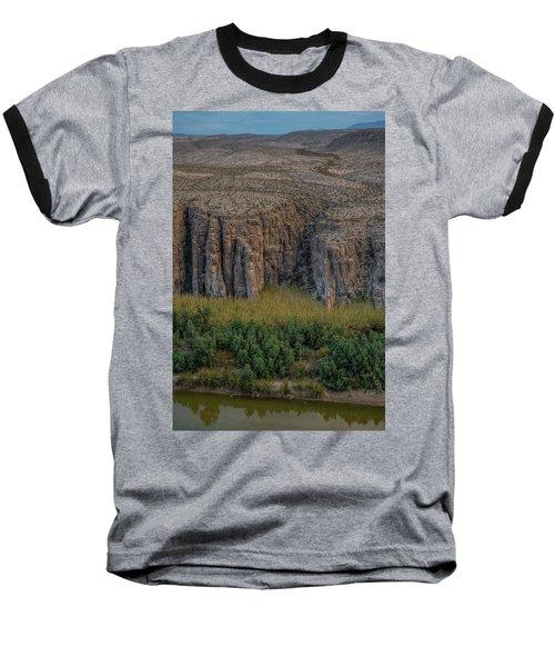Mexican Box Canyon Baseball T-Shirt