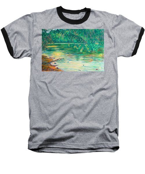 Mid-spring On The New River Baseball T-Shirt