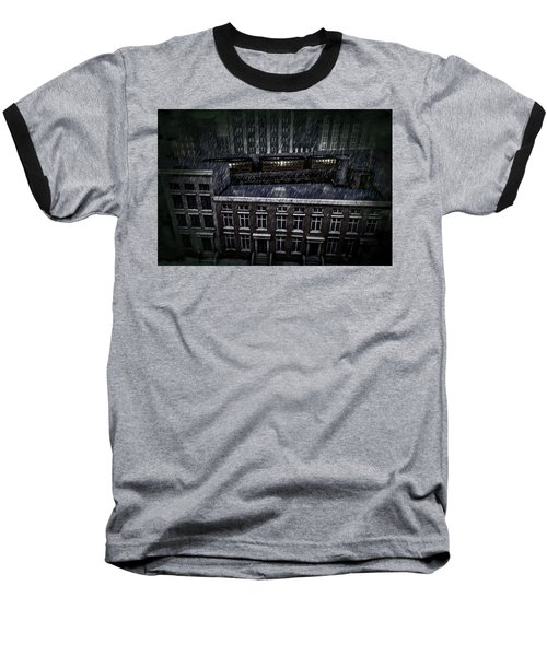 Midnight Train Baseball T-Shirt