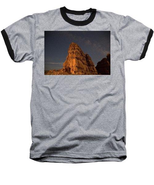 Milky Way On The Rocks Baseball T-Shirt