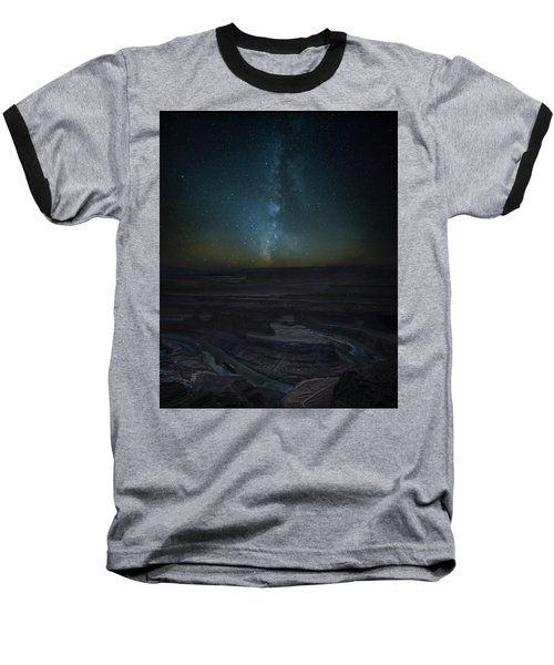 Baseball T-Shirt featuring the photograph Milky Way Over Dead Horse Point by David Morefield