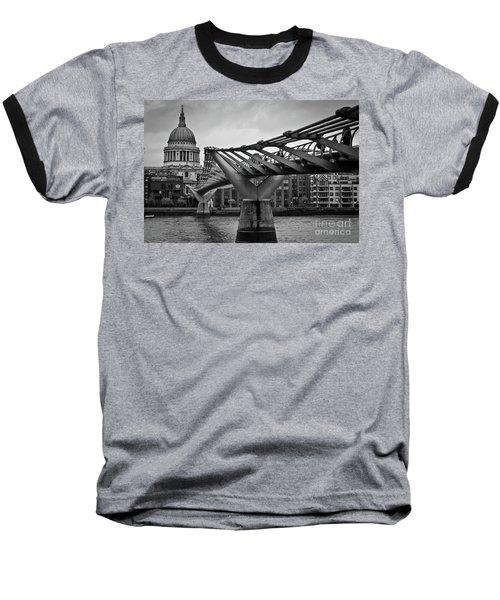 Millennium Bridge 01 Baseball T-Shirt