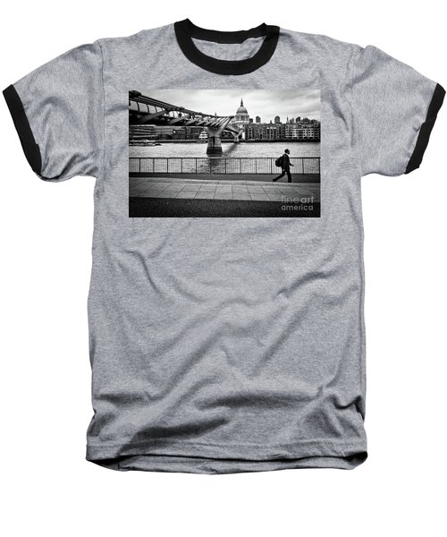 millennium Bridge 02 Baseball T-Shirt