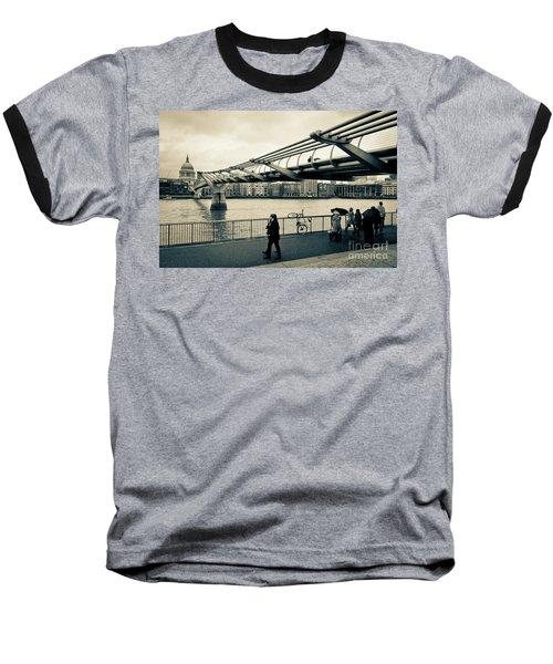Millennium Bridge 03 Baseball T-Shirt