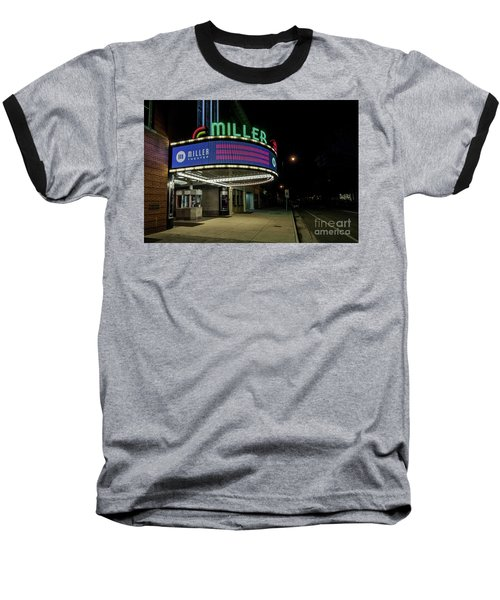 Miller Theater Augusta Ga 2 Baseball T-Shirt