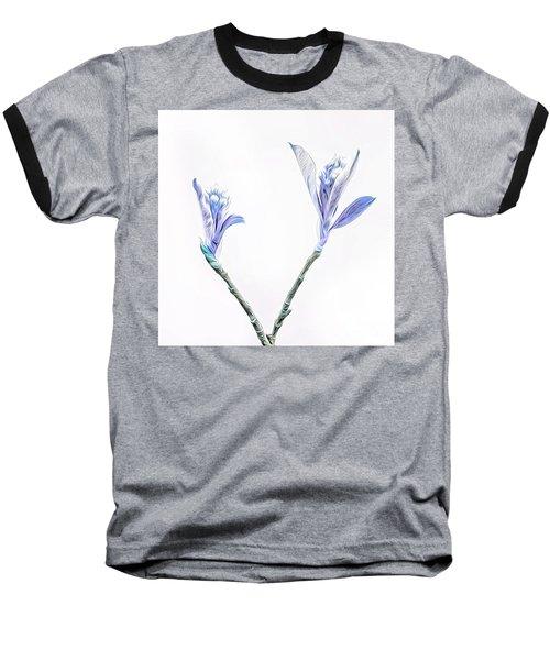 Minimalist Chokeberry Buds Baseball T-Shirt