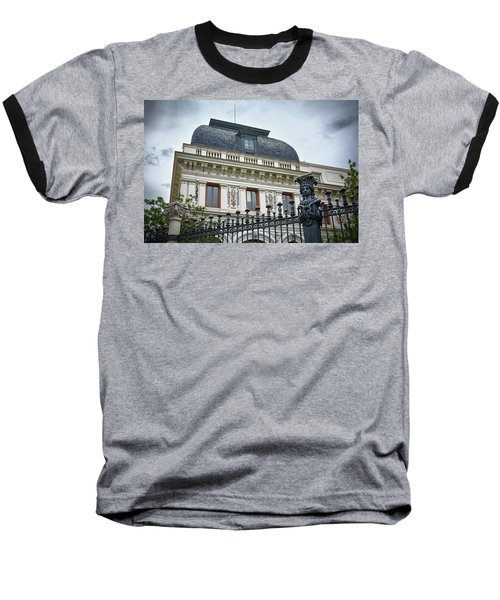 Baseball T-Shirt featuring the photograph Ministry Of Agriculture Building Of Madrid by Eduardo Jose Accorinti