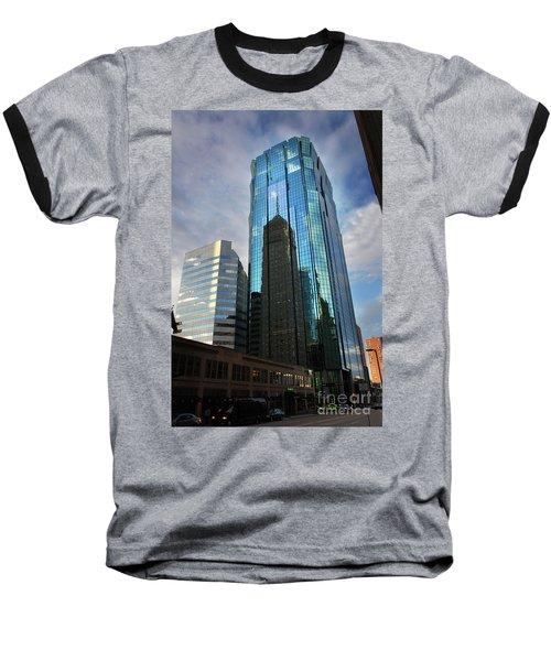 Minneapolis Skyline Photography Foshay Tower Baseball T-Shirt