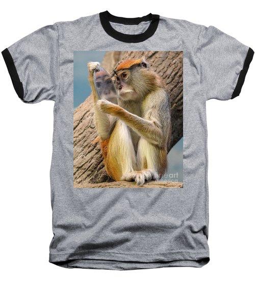 Mirror Selfie Baseball T-Shirt