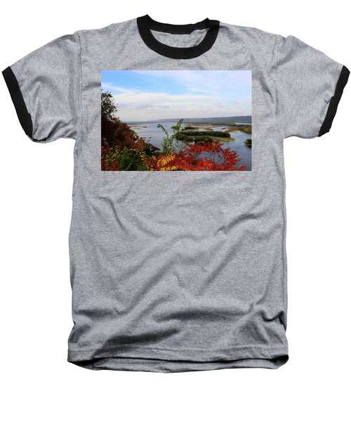 Mississippi River In The Fall Baseball T-Shirt