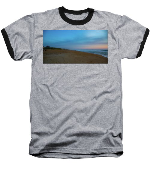 Baseball T-Shirt featuring the photograph Misty Morning by Lora J Wilson
