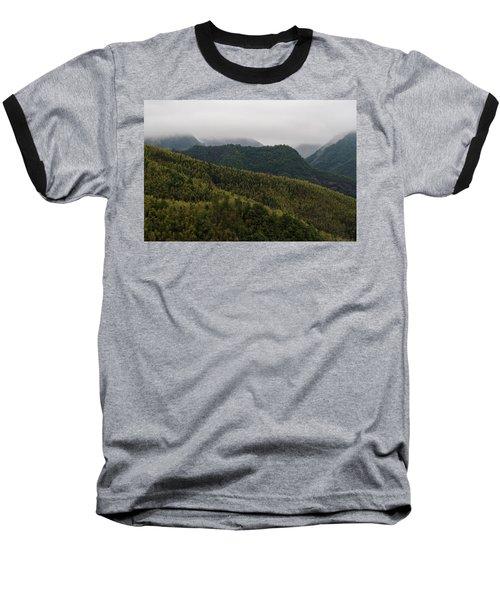 Misty Mountains I Baseball T-Shirt
