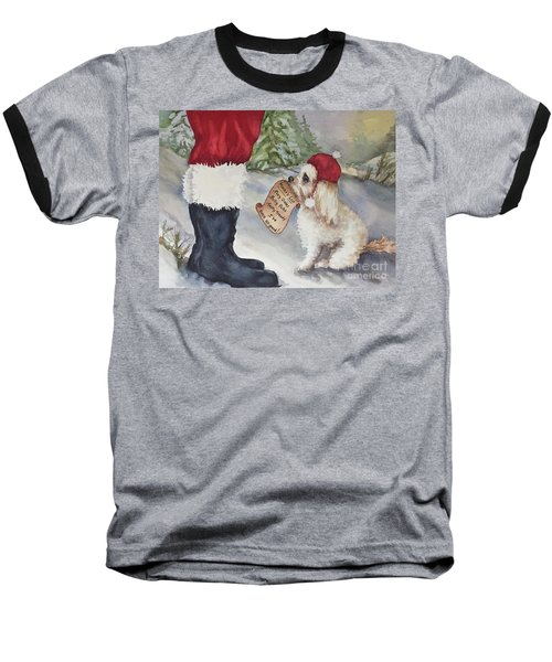 Mocha's List Baseball T-Shirt