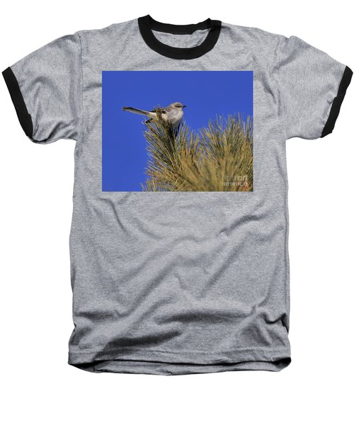 Mockingbird In White Pine Baseball T-Shirt