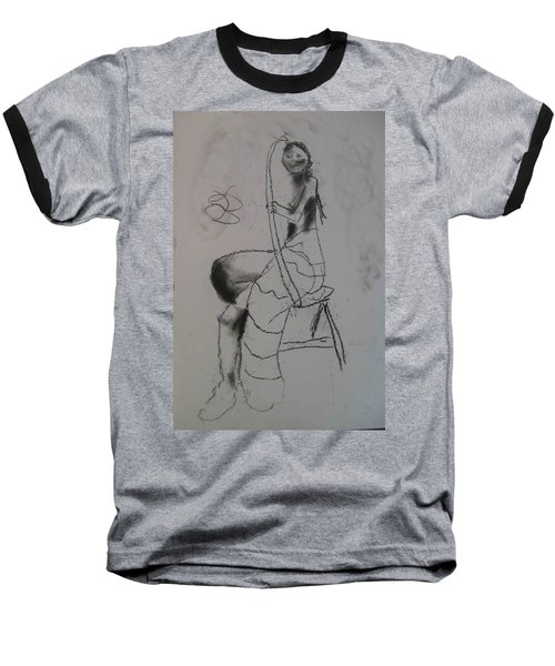 model named Chieh two Baseball T-Shirt
