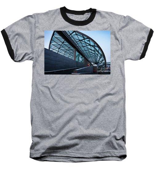 Modern Architecture Shell Baseball T-Shirt