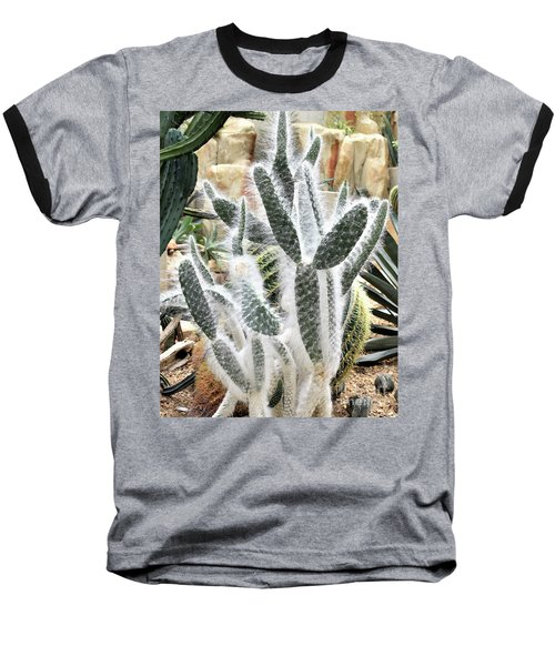 Mojave Prickly Pear Baseball T-Shirt
