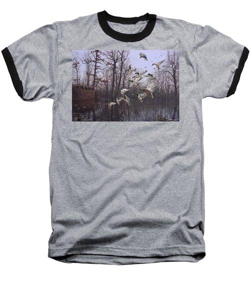Monday Morning Mallards Baseball T-Shirt