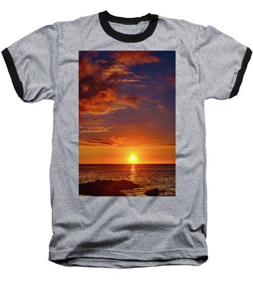 Monday Sunset Baseball T-Shirt
