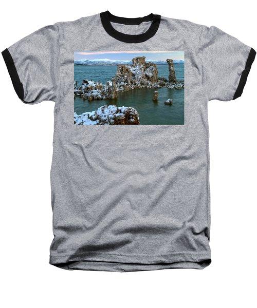 Mono Lake Tufa Towers Sunrise Baseball T-Shirt