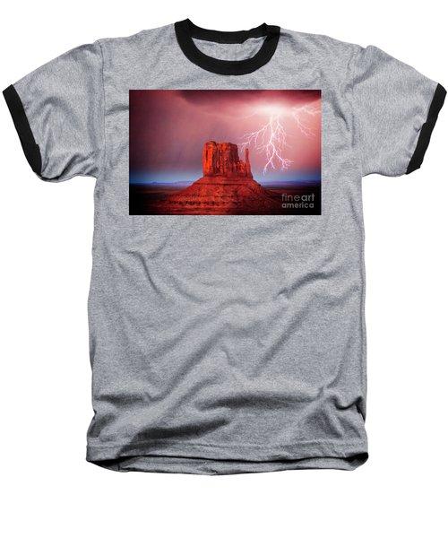 Monsoon Storm Baseball T-Shirt