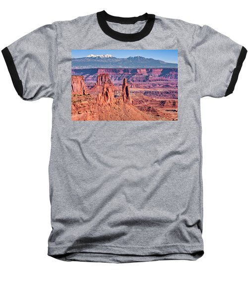 Baseball T-Shirt featuring the photograph Monster Tower by Andy Crawford