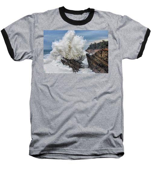 Monster Wave Baseball T-Shirt