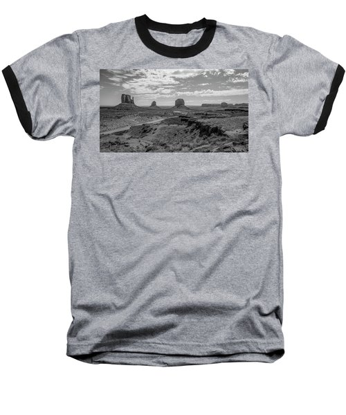 Monument Valley View Baseball T-Shirt