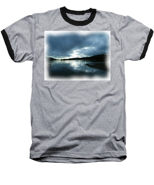 Moody Sky Painting Baseball T-Shirt