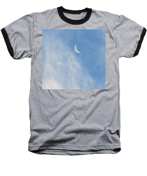 Moon In Libra - Crescent Farewell Baseball T-Shirt
