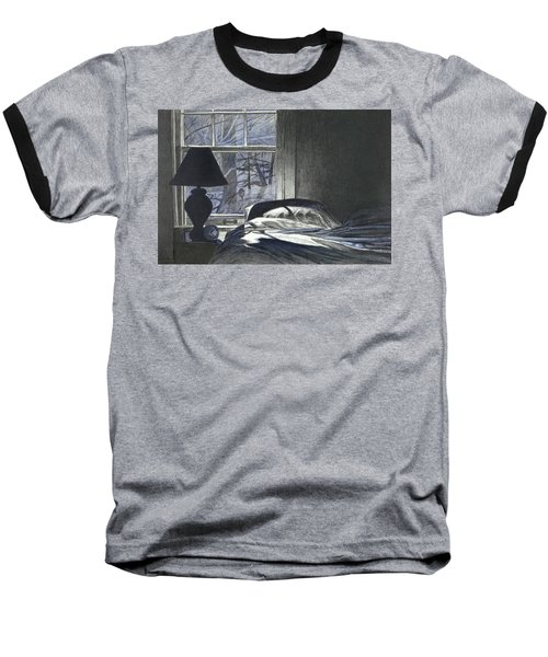 Moon Light On Our Bed Baseball T-Shirt