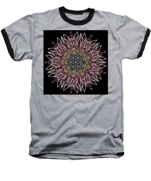 Moon Mandala Baseball T-Shirt