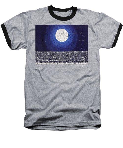 Moonbathing Original Painting Baseball T-Shirt