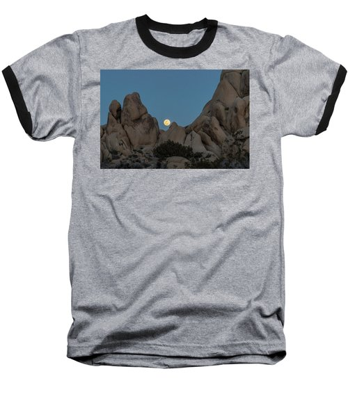 Moonrise In The Sight Baseball T-Shirt