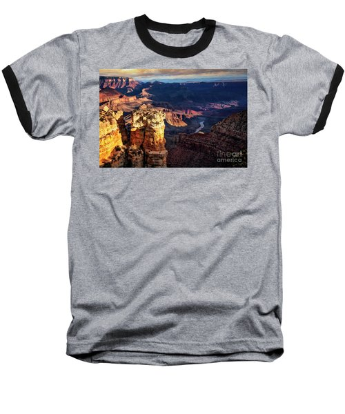 Moran Point 3 Baseball T-Shirt