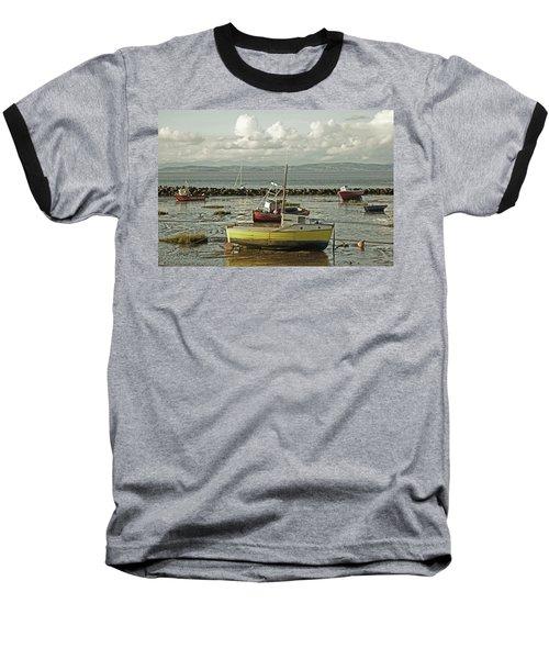 Morecambe. Boats On The Shore. Baseball T-Shirt