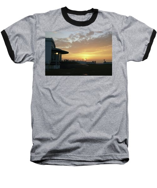 Morecambe. Evening On The Bay Baseball T-Shirt