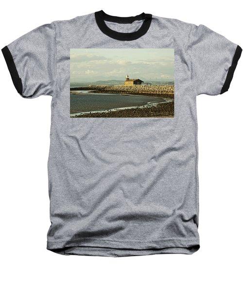 Morecambe. The Stone Jetty. Baseball T-Shirt