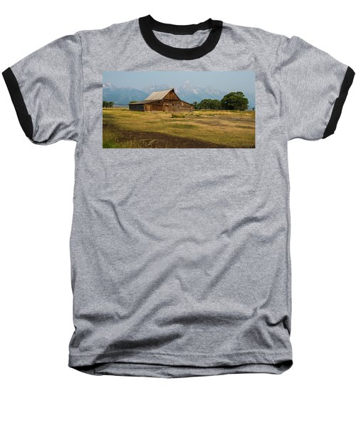 Mormon Barn Baseball T-Shirt