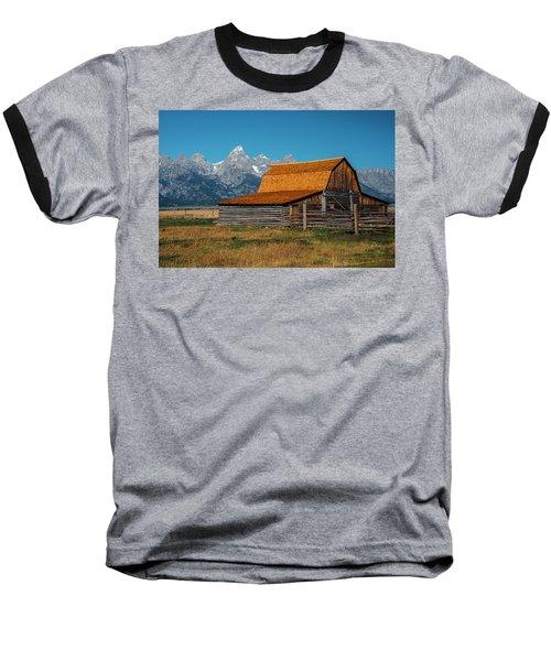 Mormons Barn 3779 Baseball T-Shirt