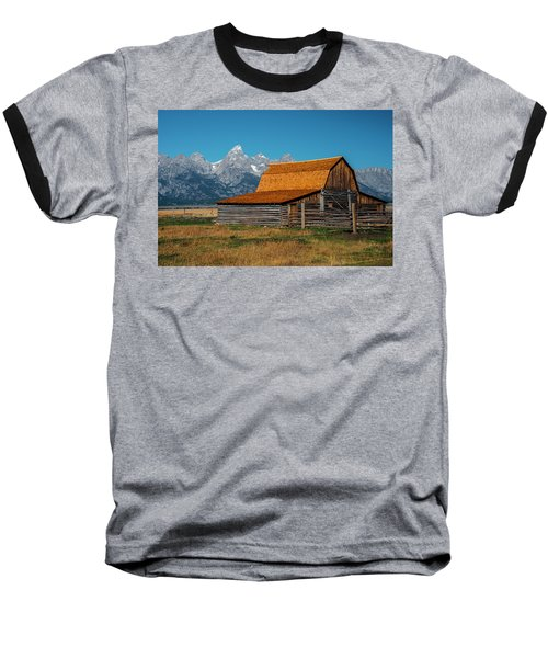 Mormons Barn 3779 Baseball T-Shirt