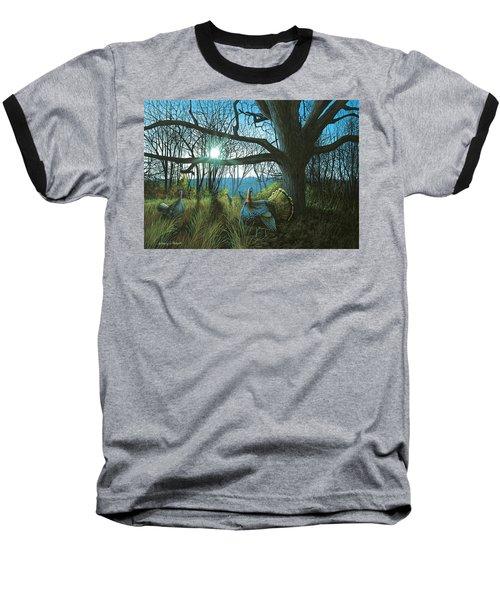 Morning Chat - Turkey Baseball T-Shirt
