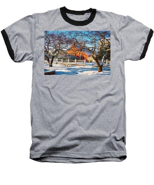 Morning Light, Winter Garden. Baseball T-Shirt