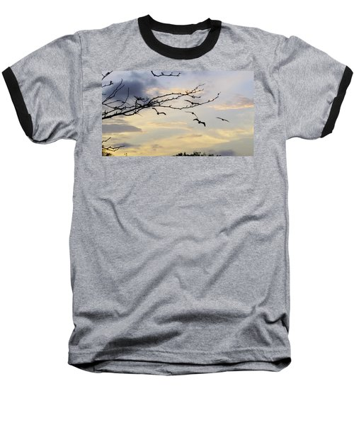 Morning Sky View Baseball T-Shirt