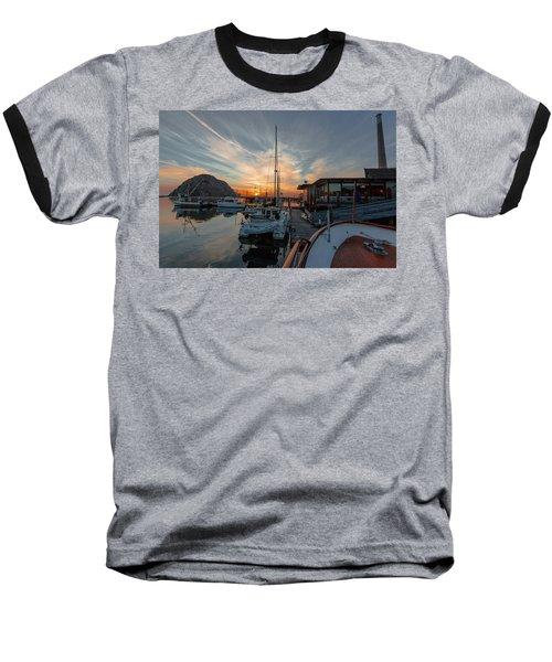 Morro Bay Sunset Baseball T-Shirt