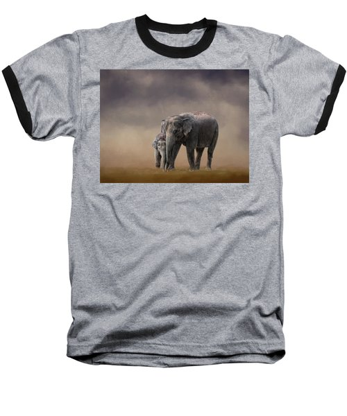 Mother And Son Baseball T-Shirt