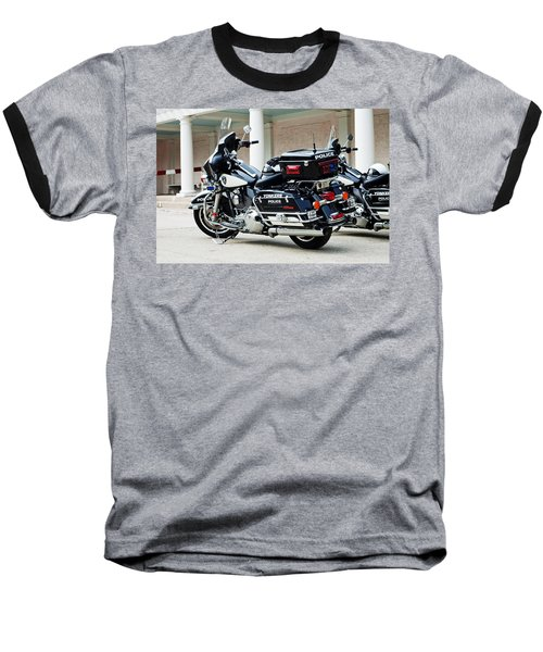 Motorcycle Cruiser Baseball T-Shirt